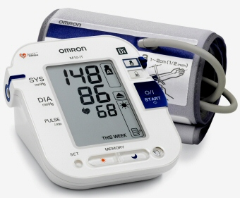 Omron Blood Pressure Monitor for Measuring Hypertension