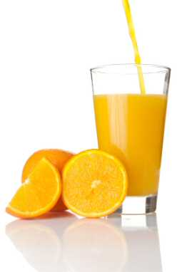 Bulimia Nervosa - Oranges and orange juice