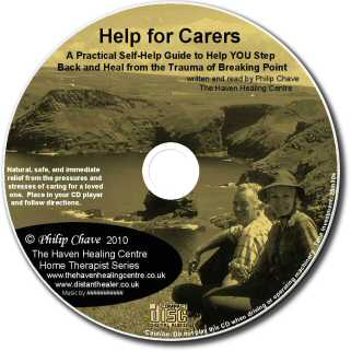 The Carers Healing Technique - Lightscribe Label