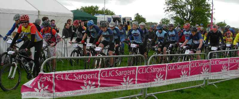 Clic 24 Charity Cycling Event for Cancer Sufferers