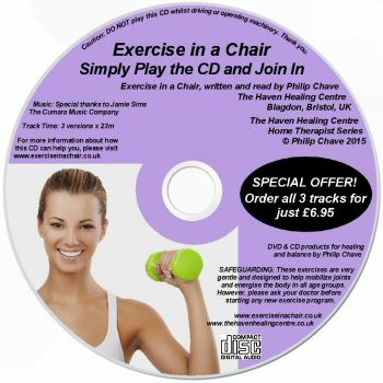 The Exercise in a Chair CD by Phil Chave