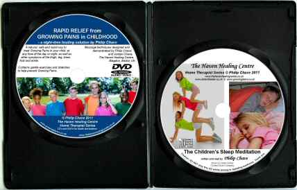 The Growing Pains DVD and Childrens Relaxation CD