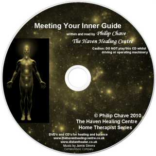 Meet Your Inner Guide CD - Lightscribe Label