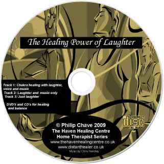 Healing with Laughter CD - Lightscribe label