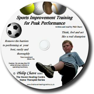 Sports Peak Performance, a CD by Philip Chave