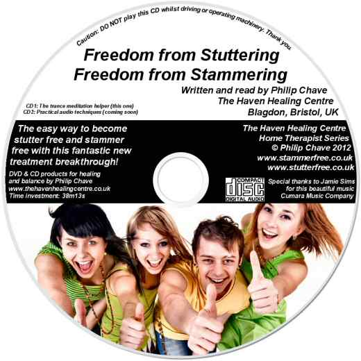 Order your Stammer Free and Stutter Free CD today